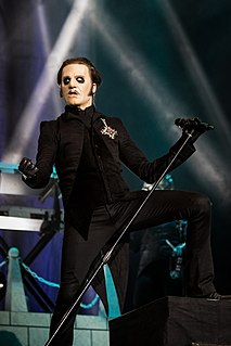 Tobias Forge Swedish singer, musician and songwriter