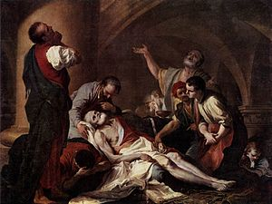 Giambettino Cignaroli - The death of Socrates