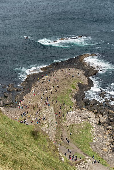 File:Giant's Causeway - Bushmills, Northern Ireland, UK - August 17, 2017 26.jpg