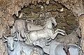 Giardino di castello, grotta degli animali o del diluvio, vasca centrale 03 cavallo e unicorno di antonio lorenzi, francesco ferrucci del tadda e altri, 1555-57 ca.jpg