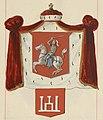 Giedzimin, Pahonia-Kalumny. Гедзімін, Пагоня-Калюмны (B. Starzyński, 1875-1900).jpg