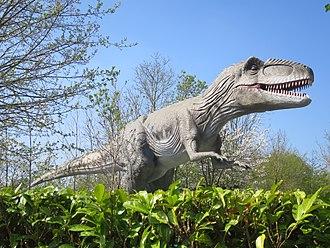 Gulliver's Land - A Giganotosaurus model