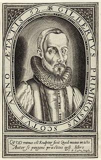 Gilbert Primrose (minister) Scottish Calvinist minister in France and London