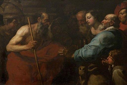 Gioacchino Assereto (1600-1649) - Diogenes with His Lantern - 108830 - National Trust