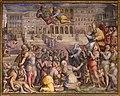 Giorgio vasari, gregorio xi torna a roma da avignone, 1572-73, 01.jpg