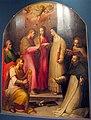 Giovan battista naldini e giovanni balducci, matrimonio mistico di s. caterina da siena, profeta david e santi, 1568 poi 1591 ca., da s. caterina 01.jpg