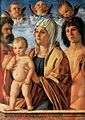 Giovanni Bellini - Madonna with Child and Sts Peter and Sebastian - WGA1695.jpg