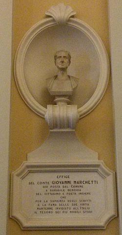 Giovanni Marchetti - Busto e iscrizione - Municipio di Senigallia.jpg