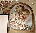 Giovanni da san giovanni, Cristo servito dagli angeli, Sant'Agostino, San Bartolomeo, 1629, 05.JPG