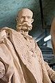 Gipsmodelle Wiener Historismus Hofburg-Keller 2015 Franz Joseph I.jpg