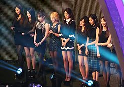 Girls' Generation at the Seoul Music Awards in 2014 01.jpg