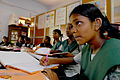 Girls in school in Chennai, India (7127903885).jpg