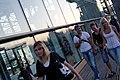 Glass reflections, city life, Bogdan Khmelnitsky (Kievsky) bridge, Moscow, Russia.jpg