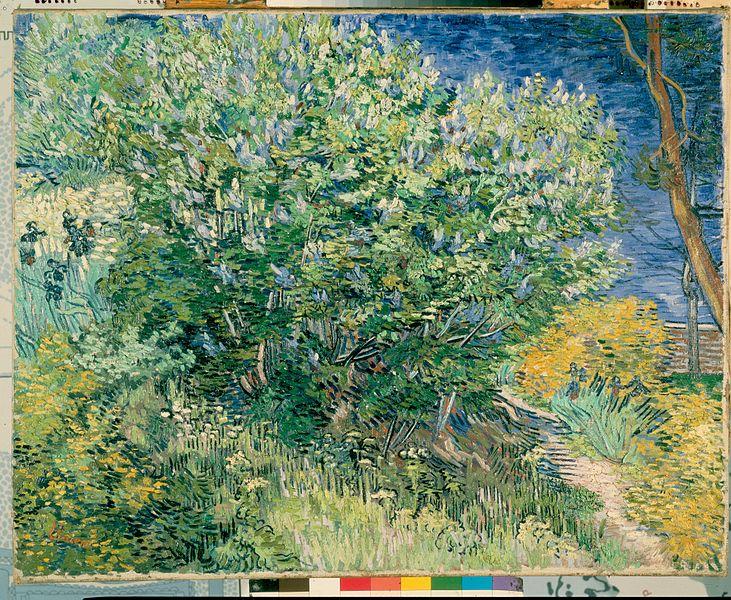 File:Gogh, Vincent van - Lilac Bush.jpg - Wikimedia Commons