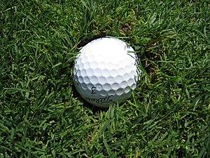 English: Golf ball