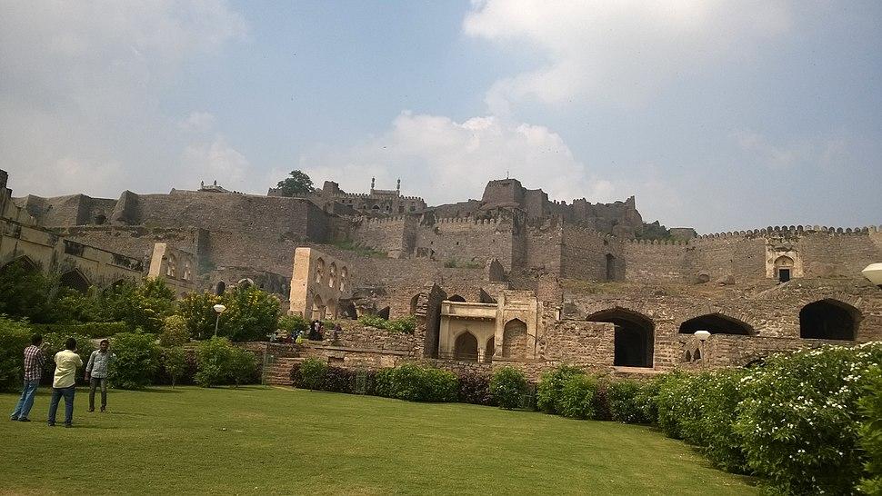 Golkonda Fort Large View