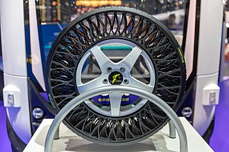 Goodyear Tire and Rubber Company - Airless tire concept