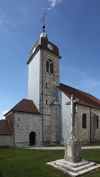 Église de Goux-les-Usiers (Doubs).