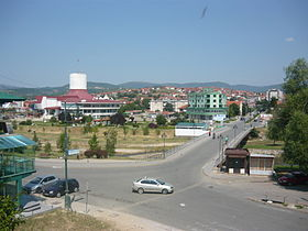 Town centre of Delčevo