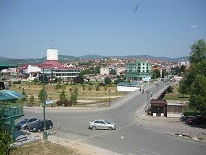 Delčevo - Town centre of Delčevo
