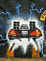 Graffiti in Shoreditch, London - Back to the Future by Graffiti Life (9422243113).jpg