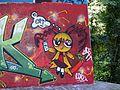 Graffiti op de Amsterdamse brug, brug 54P pic9.JPG
