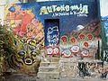 Grafiti mapuche por 12 Brillos crew barrio Quinta Normal fRF1.jpg