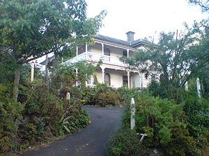 Grafton, New Zealand - One of the many historic houses in Grafton.