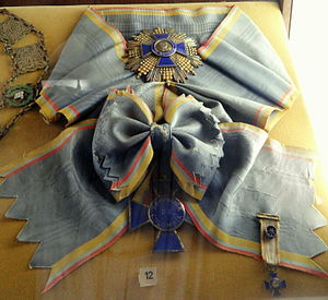 Order of Boyaca - Grand cross badge, star and sash of the Order of Boyaca