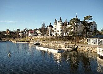 Saltsjöbaden - Image: Grand Hotel Saltsjöbaden