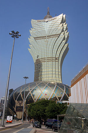 Grand Lisboa - Image: Grand Lisboa, Macau (5234996532)