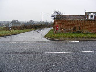 Mells, Suffolk - Image: Grange Road, Mells geograph.org.uk 1138318