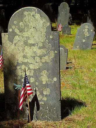 Carlisle, Massachusetts - Image: Graves in the Central Burying Ground, Carlisle, Massachusetts