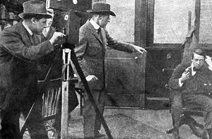 The Escape (1914 film) - Still of D. W. Griffith directing is variously attributed to both The Avenging Conscience or this film.