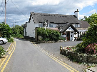 Grimley, Worcestershire - Image: Grimley Wagon Wheel Inn