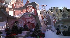 The Grinch set