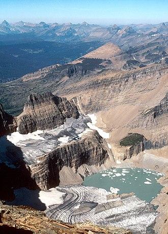 Grinnell Glacier - Image: Grinnell Glacier 1981