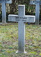 GuentherZ 2013-01-12 0405 Wien11 Zentralfriedhof Gruppe88 Soldatenfriedhof polnisch WK2 Grabkreuz Jan Pitura.JPG