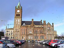 Guildhall, Derry - Londonderry - geograph.org.uk - 1159035.jpg