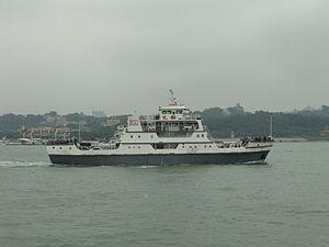 Gulangyu - Yuanhe ferry - DSCF9335.JPG