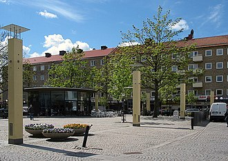 Gullmarsplan - The square in May, 2006.