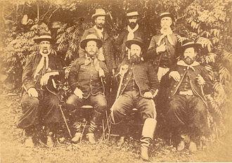 Federalist Riograndense Revolution - Gumercindo Saraiva and Maragato commanders.