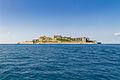 Gunkanjima Island from the Sea.jpg