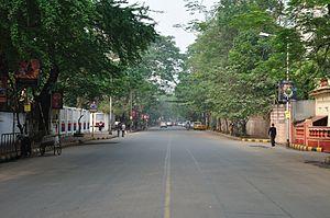 Gurusaday Dutta Road - Gurusaday Dutta Road, Kolkata