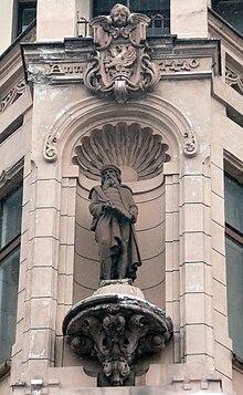 Gutenberg-Statue in Łódź (Quelle: Wikimedia)