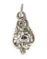 Hängsmycke av silver, 1800-tal - Hallwylska museet - 110572.tif
