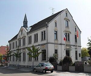 Hésingue - Image: Hésingue, Mairie
