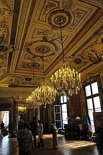 Chandelier decorative ceiling-mounted light fixture