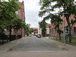 Stadtparkweg in Hannover