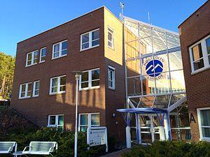 Molde University College - Image: Høgskolen i Molde (14012522156)
